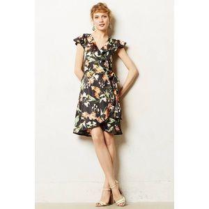NWT Karen walker for Anthropologie wrap dress